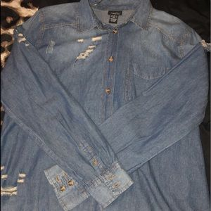 jean jacket/shirt